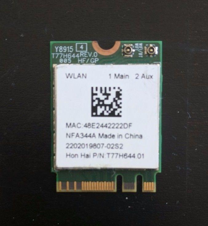 Qualcomm Atheros - WLAN Bluetooth Wi-Fi Wireless Card QCNFA344A