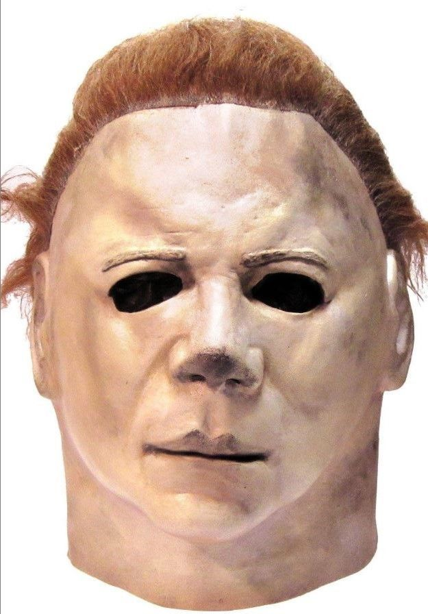 #ebay #Halloween #II #Michael #Myers #Head #Mask #One #Size #Trick #or #Treat #Scary #Creepy #Latex