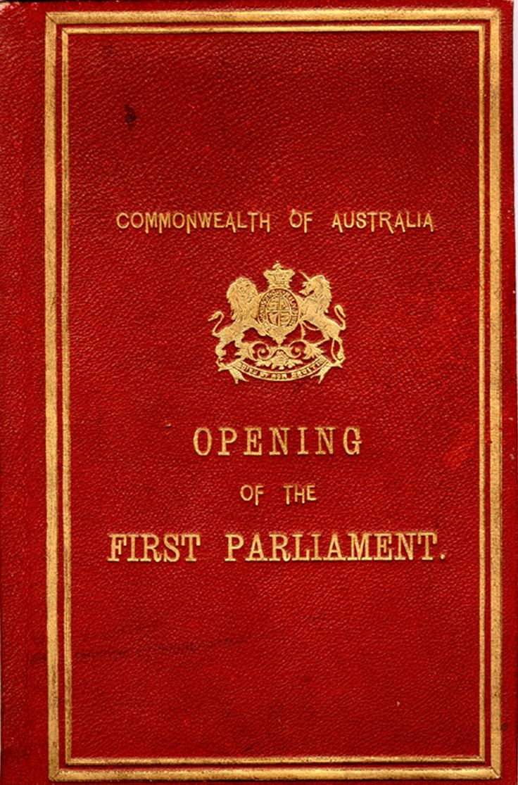 Commonwealth of Australia Opening of the First Parliament.  1901. Exhibition…