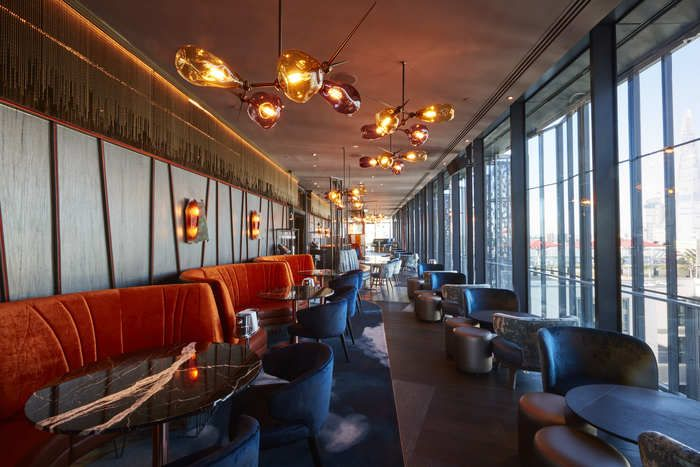 Michael Franke Bar Design Awards Savage Garden Commercial Interior Design