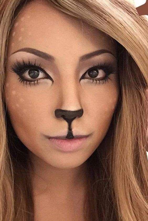 Doe a deer... facepaint