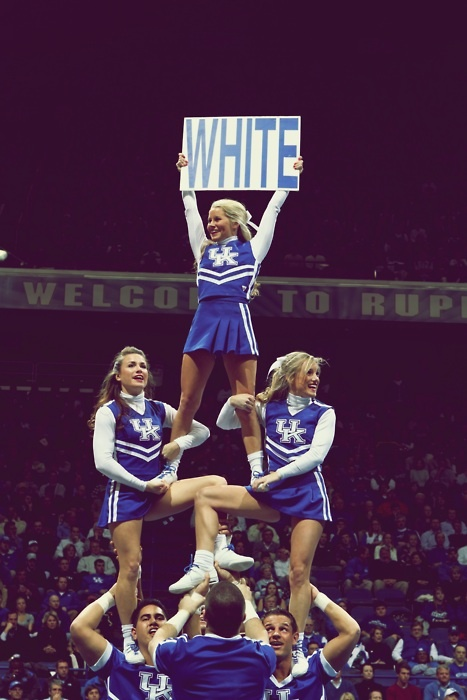 Kentucky. Eternal powerhouse in basketball and cheerleading!