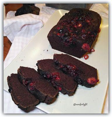 """Recetas Verofortyfit     """"Healthy and Delicious Food"""": BIZCOCHO DE CHOCOLATE Y FRUTOS ROJOS, VEGETARIANO ..."""