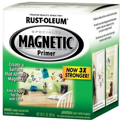 IN  OFFICE   30-oz. Magnetic Primer Kit/ then use chalkboard paint over top.