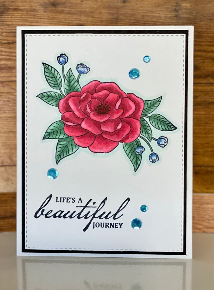 so much love in 2020  flower cards stampin up happy cards