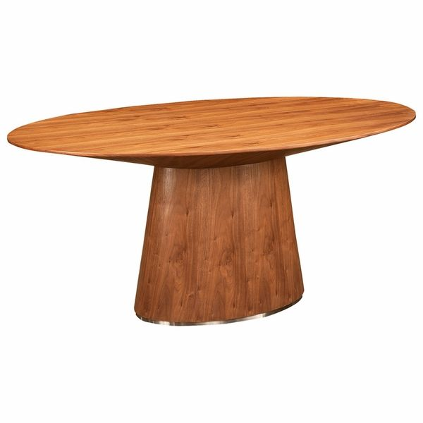 Otago Oval Dining Table (Walnut)