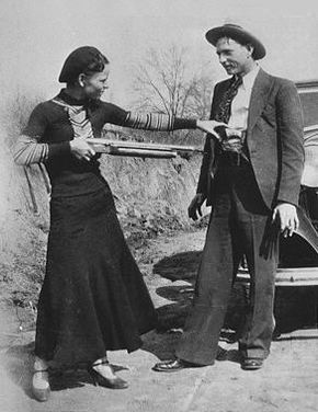 "Bonnie Elizabeth Parker (Outlaw) this is the Bonnie in the Infamous Duo ""Bonnie and Clyde"" 1910-1934"