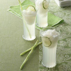 YES! My absolute favorite Summer recipe - Luscious Lime Slush! mmmmmmm