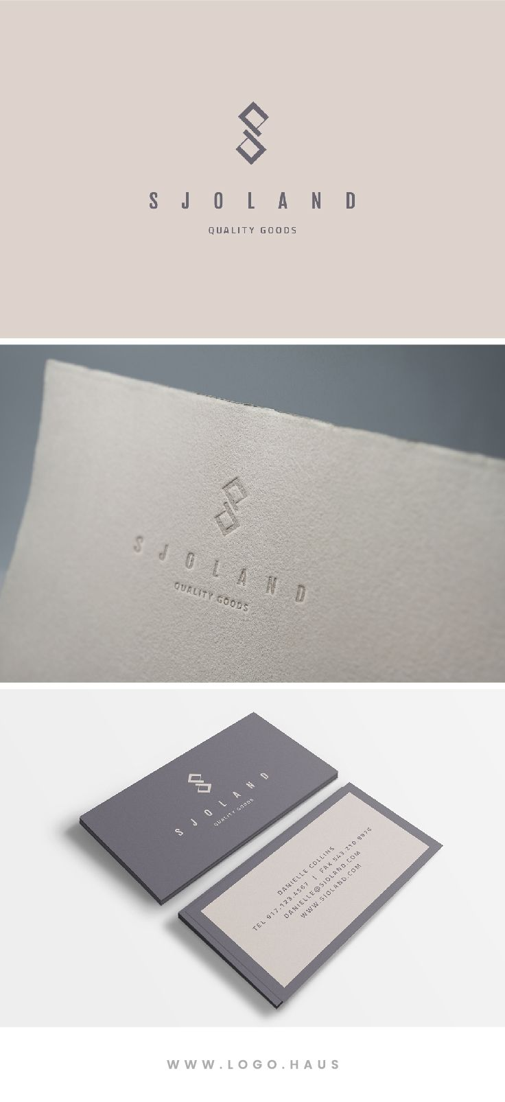 Best 25 real estate business cards ideas on pinterest realtor the sjoland logo is elegant angular and modern this logo design kit would work real estate brandingreal estate businesscorporate magicingreecefo Choice Image