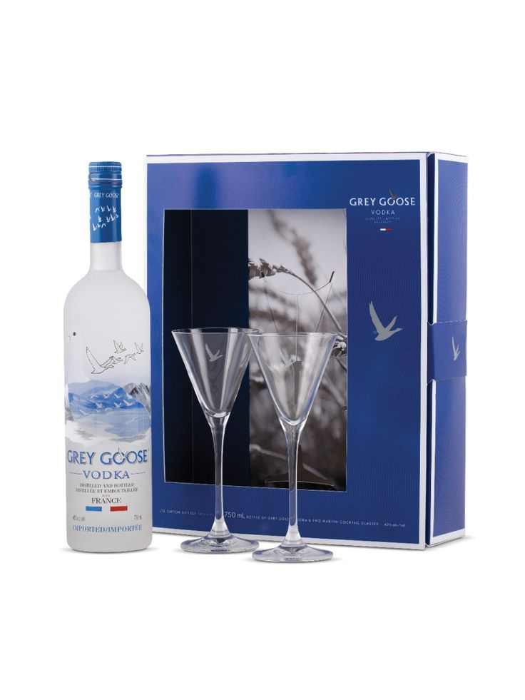 Grey Goose Vodka Martini set with a retail value of $60. Donated by Sally Babbitt of our Bank Street office.