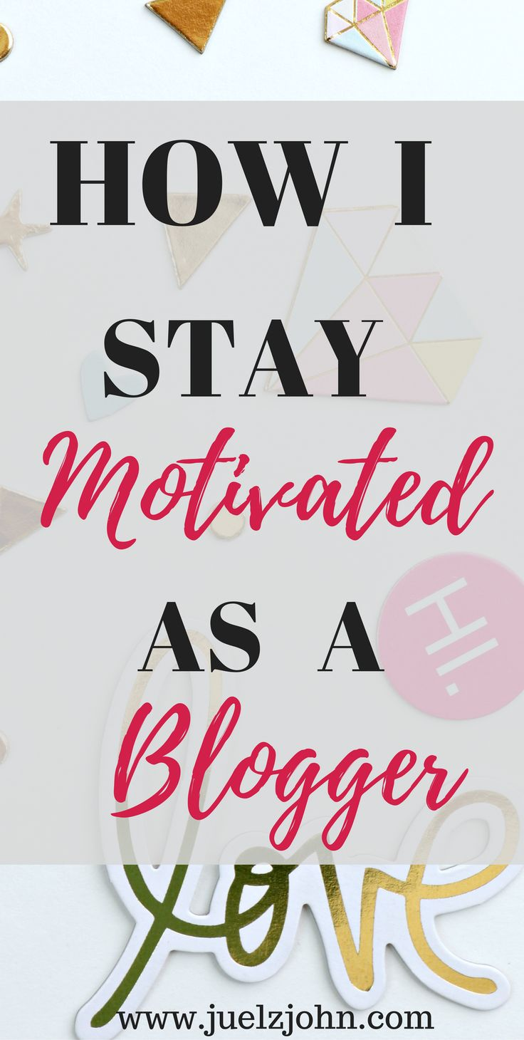 Everyone in life needs a little motivation now and then.It's easy for us bloggers to go feel discouraged.We always need a pick me time.Check out 7 ways to stay motivated as a blogger#bloggermotivation#7waystostaymotivatedasablogger#productivity#