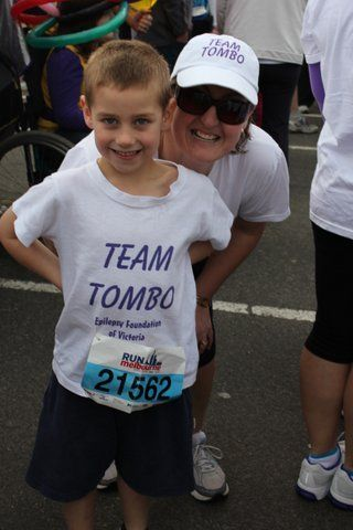 Tom Riches, 6 years old, is out team captain for Run Mlebourne he would love your support, check out his story!