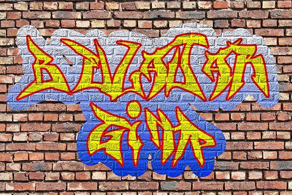 Buat Graffiti Online Gratis