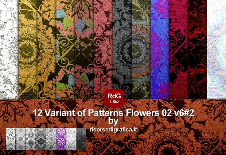 Pattern Flower download now for free