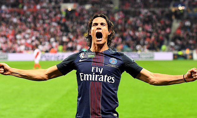 Monaco 1-4 PSG: Edinson Cavani scores twice o win French League Cup -   Paris Saint-Germain crushed Monaco 4-1 to win the French League Cup on Saturday for a record fourth straight year and seventh time overall.   Monaco... See more at https://www.icetrend.com/monaco-1-4-psg-edinson-cavani-scores-twice-o-win-french-league-cup/