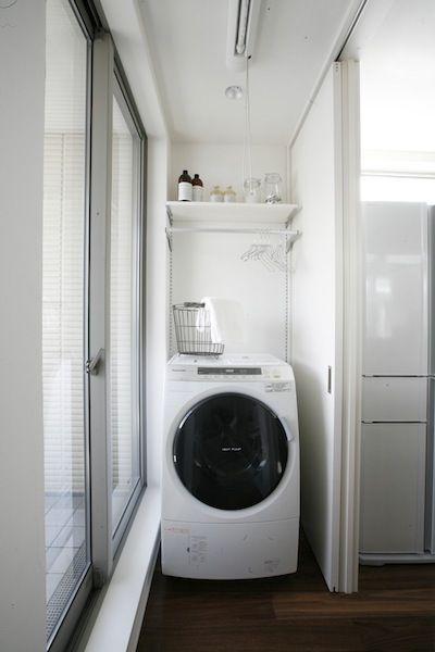 家の中の洗濯物干し | ヘーベルハウス