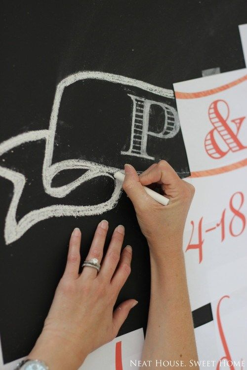 Chalkboard Lettering in 5 Easy Steps