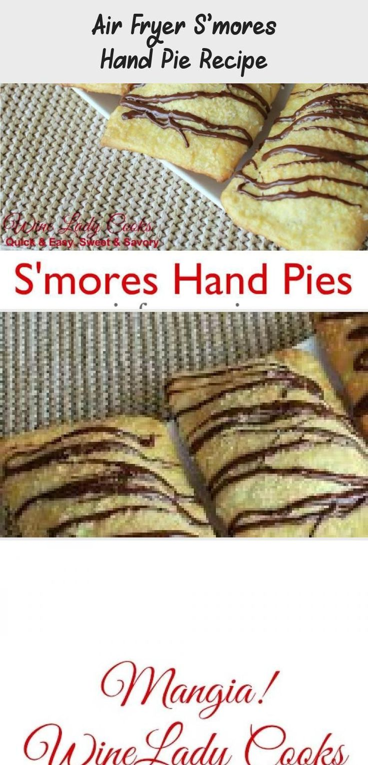Air Fryer S'mores Hand Pie Recipe AirFryerRecipesHealthy