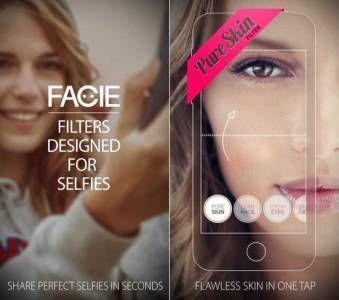 FACIE - o aplicatie grozava pentru selfie-uri disponibila GRATUIT