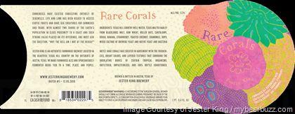 mybeerbuzz.com - Bringing Good Beers & Good People Together...: Jester King Adding Rare Corals Bottles