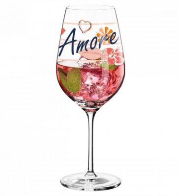 Ritzenhoff Aperitivo Rosato: Unieke aperitiefglazen met elk een eigen design ontworpen door verschillende ontwerpers.