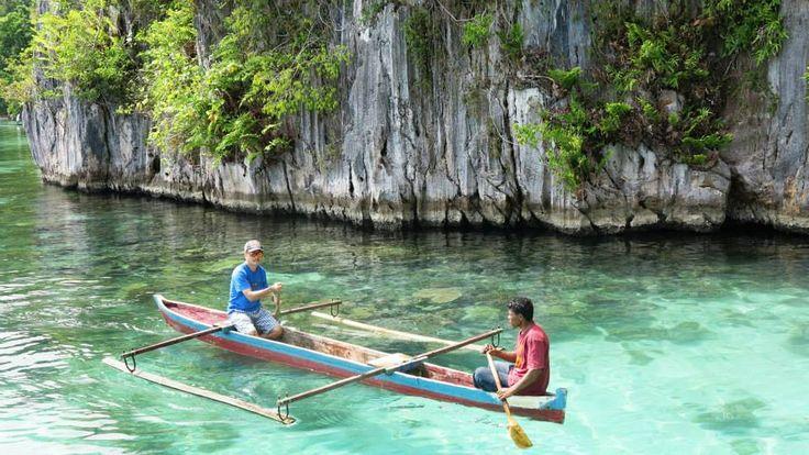 Saway Village at Seram Island Mollucas Indonesia