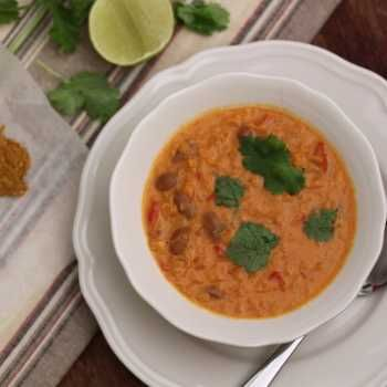 Thermomix recipe: Curried Red Lentil Soup · Tenina.com