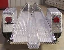 2010 Diamond Back Aluminum trailer