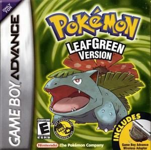 Pokemon Leaf Green Version - Game Boy Advance Game