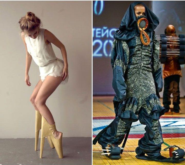 La mode dans tous ses états : découvrez les vêtements les plus excentriques de la haute couture