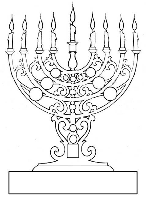 138 Best Hanukkah Coloring Pages Images On Pinterest Crochet Free Hanukkah Coloring Pages