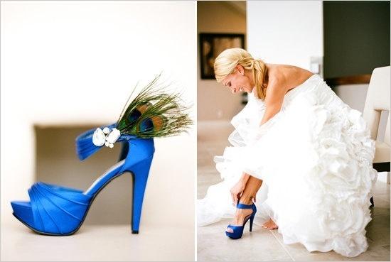 Peacock Wedding Shoes!!! wedding-stuffz