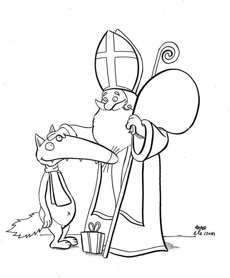 Loup et Saint-Nicolas