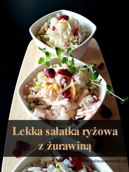 Lekka sałatka ryżowa