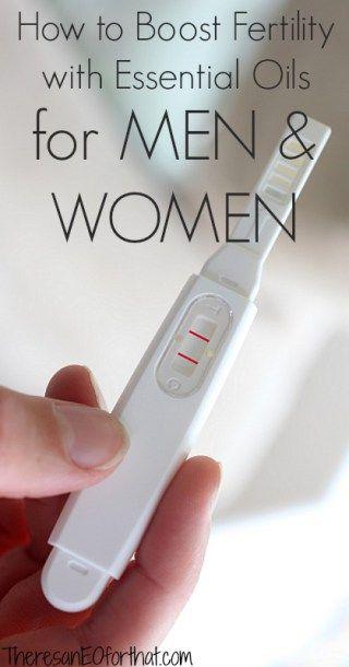 essential oils that boost fertility