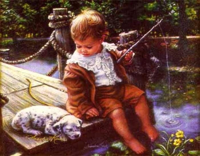 Sandra Kuck Paintings Gone Fishing