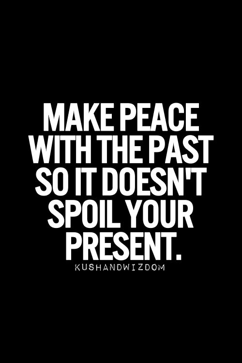 Thought my past was behind me start to finally move on and BAM here we go again!!! Go away for good....