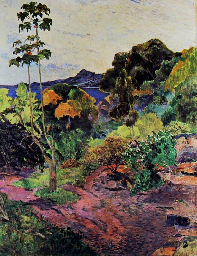 Vegetazione tropicale, olio su tela, Edimburgo, National Gallery of Scotland