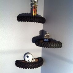 Idea's for decorating a dirt bike room