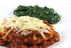 Weight Watchers Chicken Parmigiana  (7 Points+ Per Serving)