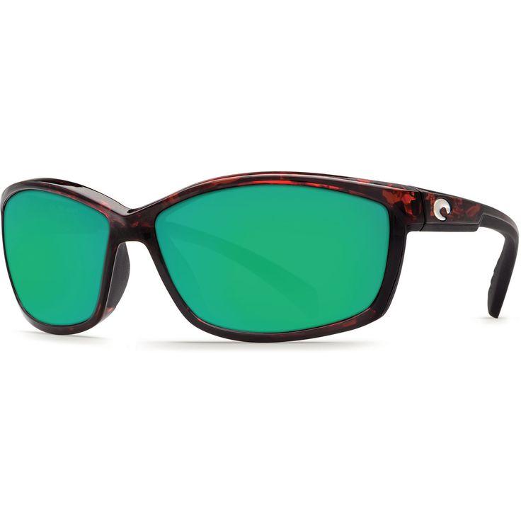 Costa Tortoise/Green Mirror Manta 580P Sunglasses
