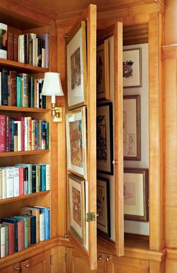 38 Best Images About Hidden Rooms Amp Storage On Pinterest Hidden Storage Bookcase Door And
