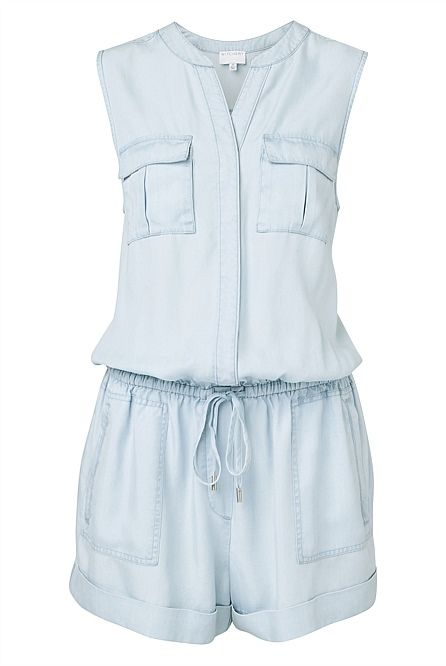 Women's Jumpsuits & Playsuits - Witchery Online - Utility Play Suit