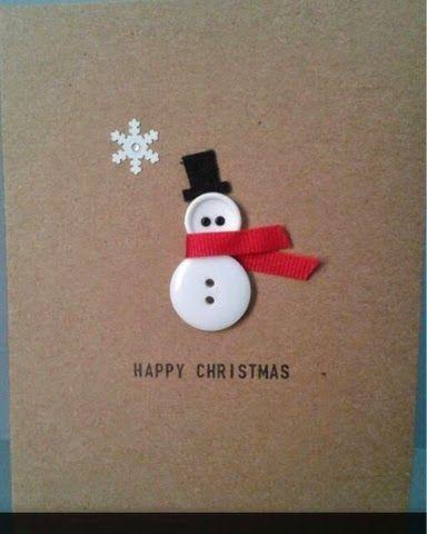 zammelst cke knopf karte basteln weihnachten. Black Bedroom Furniture Sets. Home Design Ideas