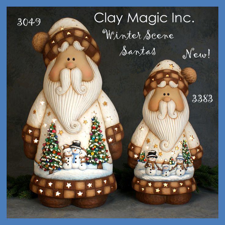 Santa Claus en masa flexible -.  Clay Magic - Gallery