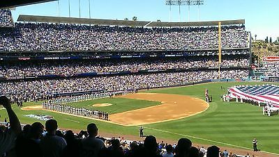 #Tickets 4 DODGER TICKETS WITH PREFERRED PARKING 4/1/17 VS ANGELS #Tickets