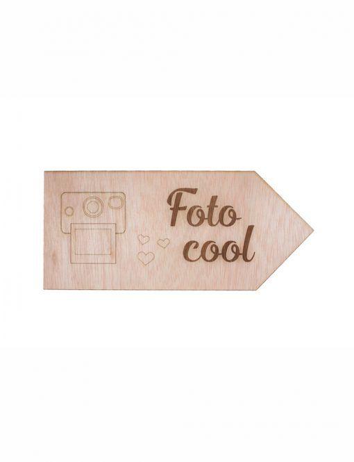Cartel señalización Fhotocall para bodas