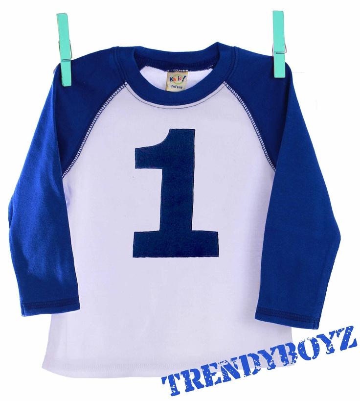 Personalized Raglan Baseball Number Varsity Tee Shirt