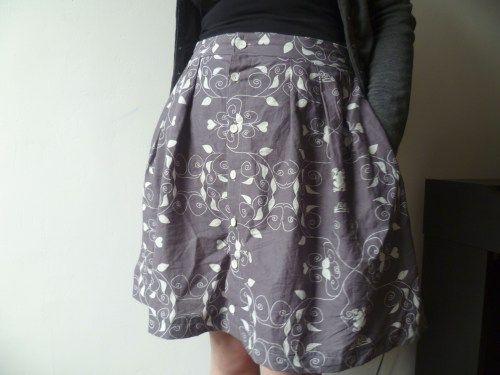 buttoned skirt - by maggot