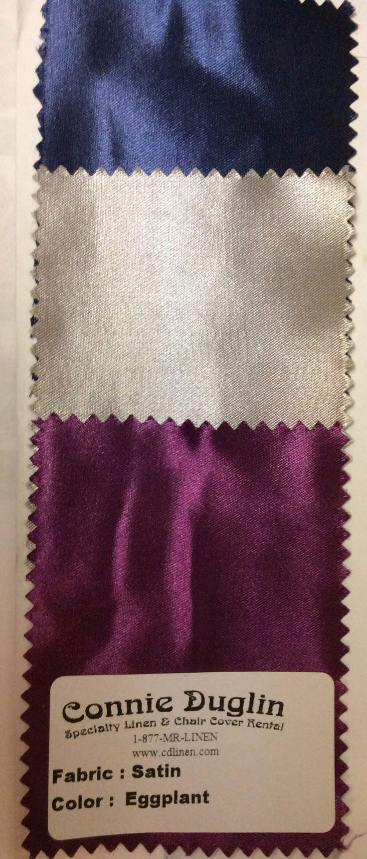 Navy Blue, Silver And Plum/eggplant For Fall Wedding